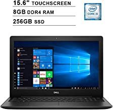 2019 Newest Dell Inspiron 15 3593 15.6 Inch Touchscreen FHD Laptop (10th Gen Inter 4-Core i5-1035G1 up to 3.6GHz, 8GB DDR4 RAM, 256GB SSD, Intel UHD Graphics 620, Windows 10, Black)