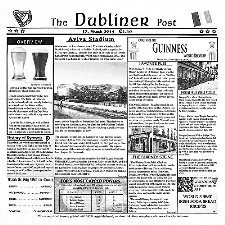 12  x 12  White Food-Safe Dublin Newsprint Liner, Food Basket Liner, Deli Wrap, Clipper Mill by GET 4-TD1900 (Pack of 1000)