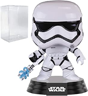 Star Wars: The Force Awakens - FN-2199 Trooper Funko Pop! (First Order Stormtrooper) Vinyl Figure (Includes Compatible Pop Box Protector Case)