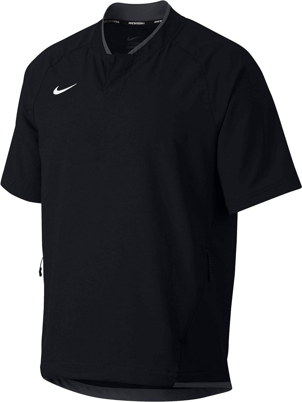 New mail order Nike Men's Hot Baseball Jacket Medium Black Practice 2021 autumn and winter new