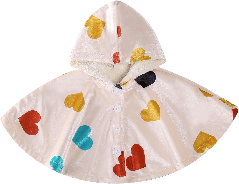 Villagepageme Newborn Baby Girls Winter Cloak 70% OFF Outlet P Warm Popularity Coat Hooded
