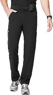 FIGS Axim Cargo Scrub Pants for Men Medical Scrub Pants, Black 2XL