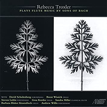 Rebecca Troxler Plays Flute Music By the Sons of Bach