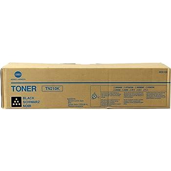 Konica-Minolta 8938-505 TN210K OEM Toner Black Yields 20,000 Pages