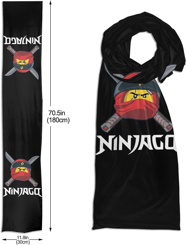 Hiacpy Ninjago Dot Winter Fall Fashion Scarf Warm Long Soft Neckerchief for Men and Women One Size
