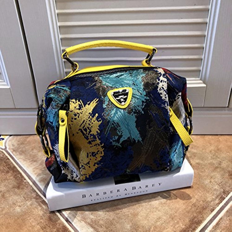 CJshop Frühling und Sommer Gold-Farbig Lackiert Handtasche Handtasche Handtasche Schräge Tasche, Koreanische Version, Freizeit Schlauchbeutel, Multi Layer Portable Lady Tasche. B07FHXXGXM  Am praktischsten 472819