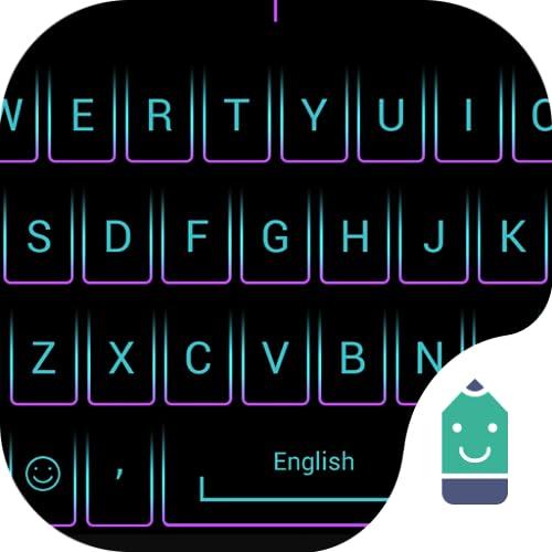 Purple Crystal Theme&Emoji Keyboard