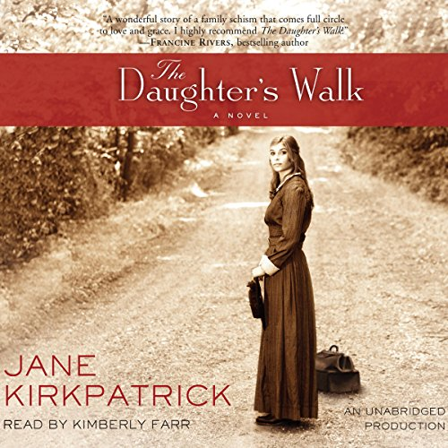 The Daughter's Walk audiobook cover art