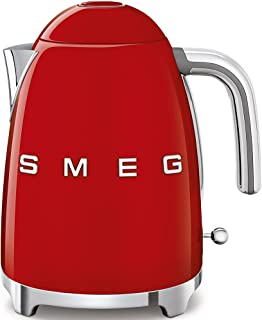 Smeg KLF03RDEU - Bouilloire électrique - 1.7L - 2400W - Rouge