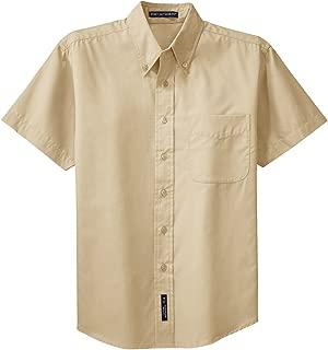 Men's Tall Short Sleeve Easy Care