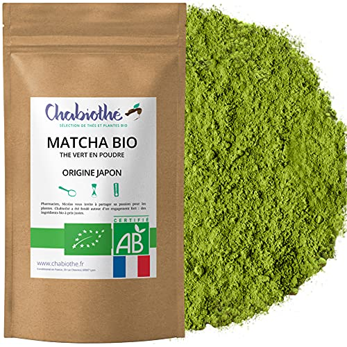 Chabiothé Matcha Dégustation Bio 100g - Origine...