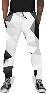 Unisex 3D Digital Print Sports Jogger Pants Casual Graphic Trousers Sweatpants with Drawstring