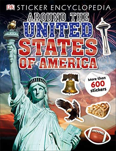 Sticker Encyclopedia Around the United States of America (Sticker Encyclopedias)