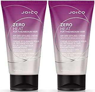 Joico Zero Heat Air Dry Creme for Fine/Med Hair, 5.09-Ounce, 2 Count