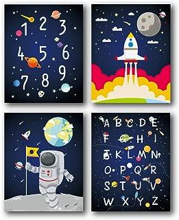 Best alphabet nursery art Reviews