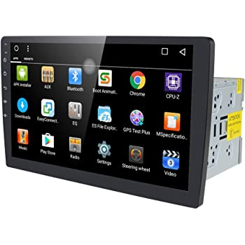 """10.1"""" Android 10.0 Octa Core 2GB 32GB Double Din Car Stereo Radio with Bluetooth, GPS Navigation - Support Fastboot, WiFi, USB, MirrorLink, Backup Camera, AUX, Subwoofer, OBD2, Dash Cam"""