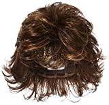 Raquel Welch Breeze, Short Textured Layers With A Feathered Bob Style Hair Wig For Women, R829S Glazed Hazelnut by Hairuwear