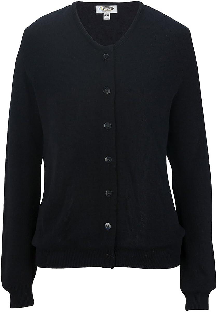 Edwards Garment ED Garments Ladie's Drop Neck Cardigan Sweater