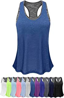 Women Tank Top with Built in Bra, Lightweight Yoga Camisole for Workout Gym Fitness - Eco-Friendly Packaging Design