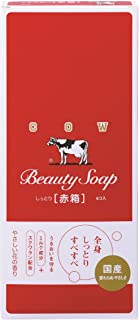 COW BRAND Soap Red Box 100g6pieces