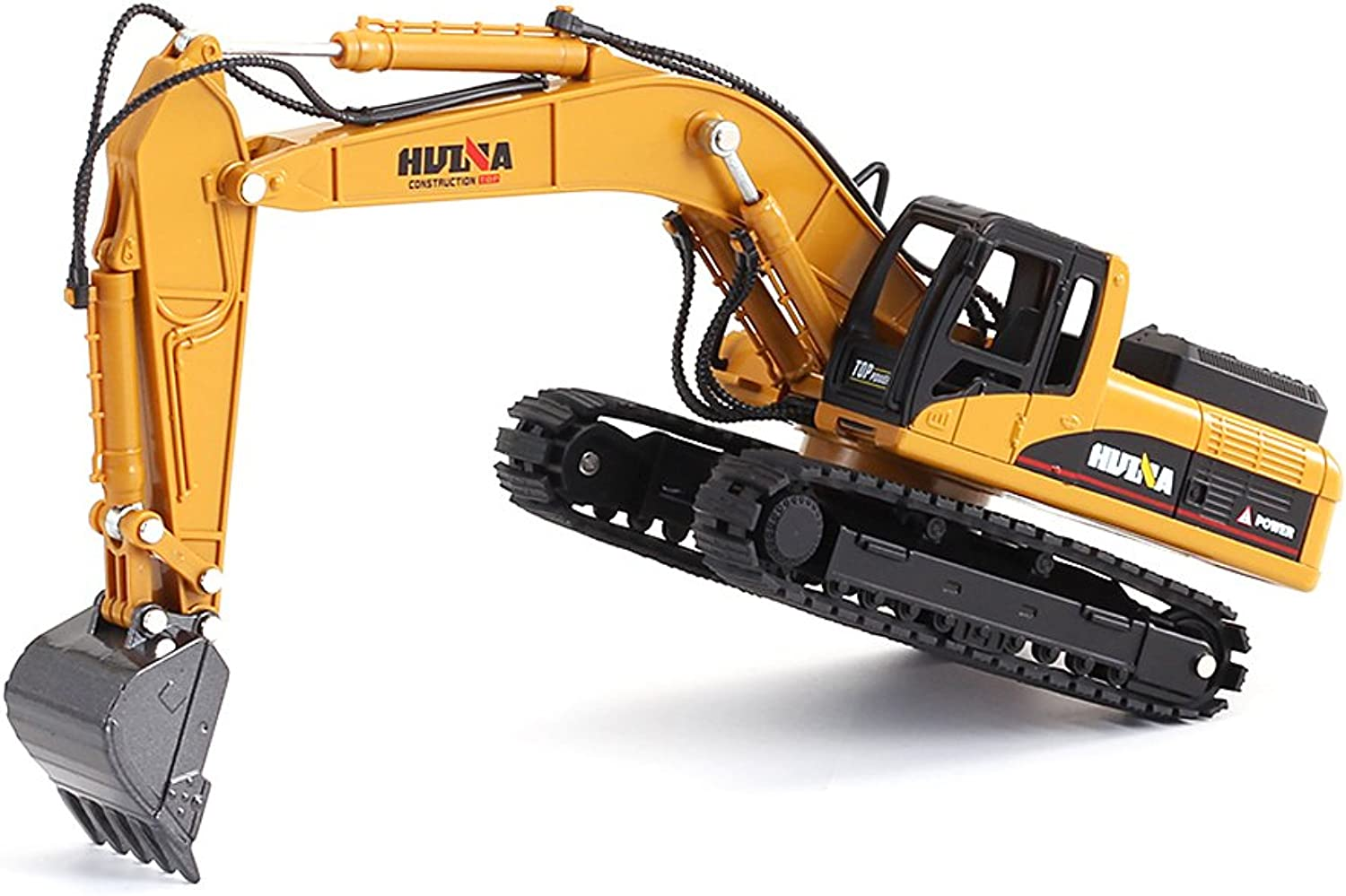 1 50 Scale Diecast Crawler Excavator Construction Vehicle Car Models Toys for Kids