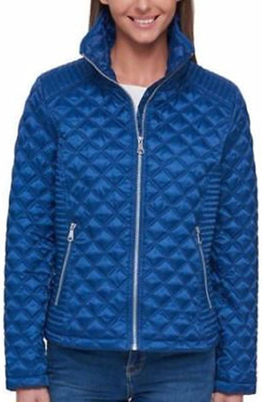 Andrew Marc Women's Quilted Jacket. Navy. XXXLarge.