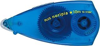 プラス テープのり ノリピア 6mm×10m ブルー 37-750
