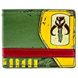 Star Wars - Mandalorian Green Bi-Fold Wallet 3 x 2in