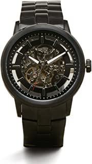 Men's KC3981 Chronograph Silver and Black Dial Watch
