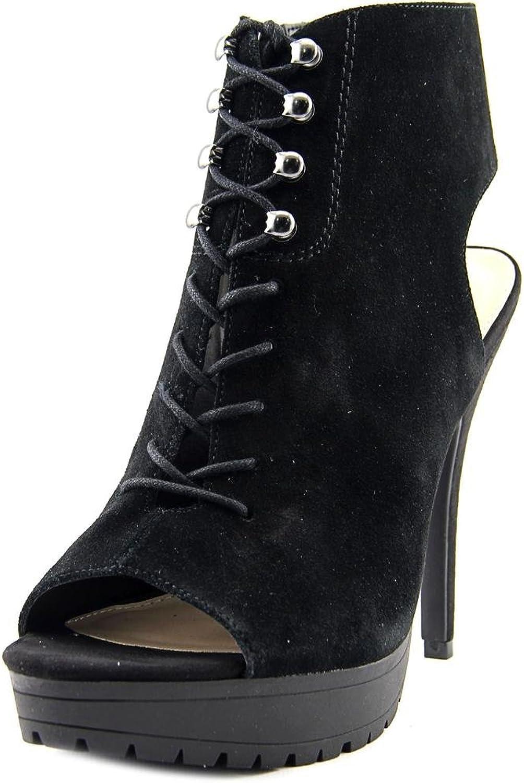 Bar III Emiko Women US 10 Black Platform Heel