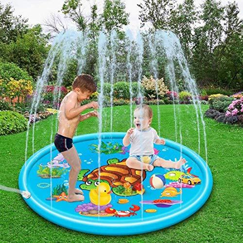 AMINSHAP Juguetes inflables del Agua 68'para niños y bebés Animales aspersores Educationl diseñados Agua de la Piscina al Aire Libre para los niños,si