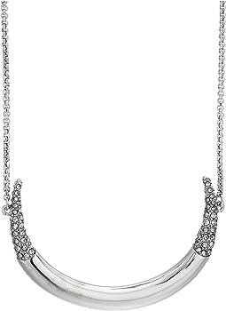 """30"""" Crescent Pendant Necklace"""