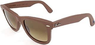 Ray-Ban RB2140QM - 116985 Sunglasses Bronze-Copper Brown w/ Brown Gradient Lens 50mm