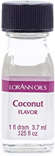 LorAnn Coconut Super Strength Flavor, 1 dram bottle (.0125 fl oz - 3.7ml)