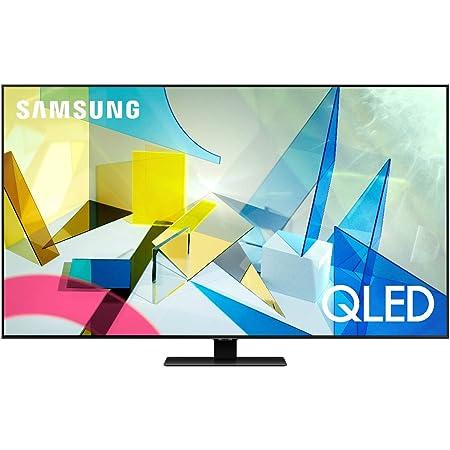 """Samsung TV QE65Q80TATXZT Serie Q80T QLED Smart TV 65"""", con Alexa integrata, Ultra HD 4K, Wi-Fi, Silver, 2020"""