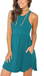 Best teal casual dress Reviews