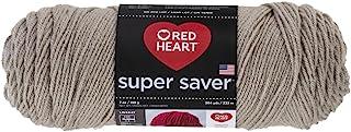 Red Heart Super Saver Yarn - Oatmeal (Pack of 3)