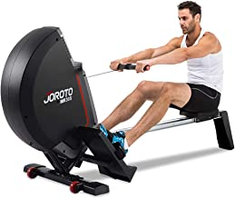 JOROTO Magnetic Rowing Machine with LCD Monitor Rower Row Machine Exercise Equipment Workout Machine for Home Use