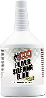 Red Line 30404 Power Steering Fluid - 1 Quart (Pack of 4)