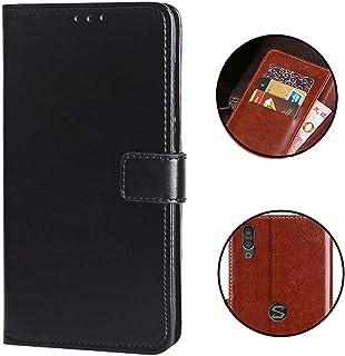 Black Shark 2 ケース 手帳型 Sooyeeh カード収納 8色可選 高級PUレザー スタンド機能付き 指紋認証よし 耐衝撃 全面保護 軽量 超薄型 ビジネス風 (ブラック)