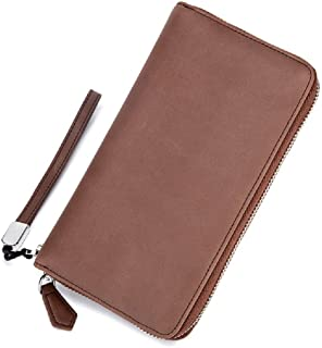 RFID Blocking Leather Credit Card Holder Wallet ID Case 24 Slots Multi Card Purse