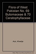 Flora of West Pakistan No. 69 Butomaceae & 70 Ceratophyllaceae