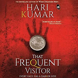 That Frequent Visitor     Every face has a dark side              Written by:                                                                                                                                 Hari Kumar                               Narrated by:                                                                                                                                 Susheel Kumar                      Length: 6 hrs and 38 mins     Not rated yet     Overall 0.0