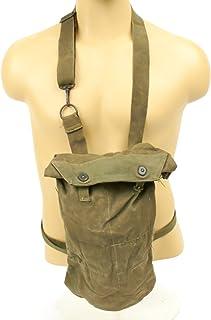 Original U.S. WWII M8 Snout Gas Mask Bag - M10 Carrier