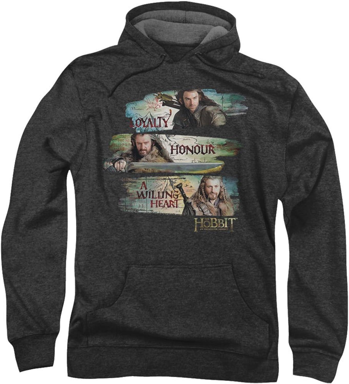 The HobbitMens Loyalty And Honour Hoodie