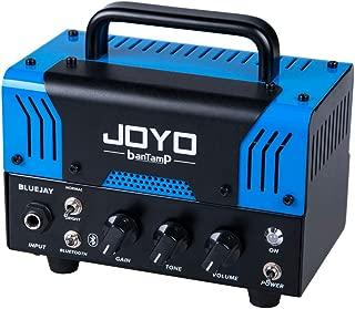 JOYO BantamP Series BlueJay 20 Watt Dual Channel Guitar Amplifier head, Portable Mini Amp for Bass, Acoustic Electronic Guitar