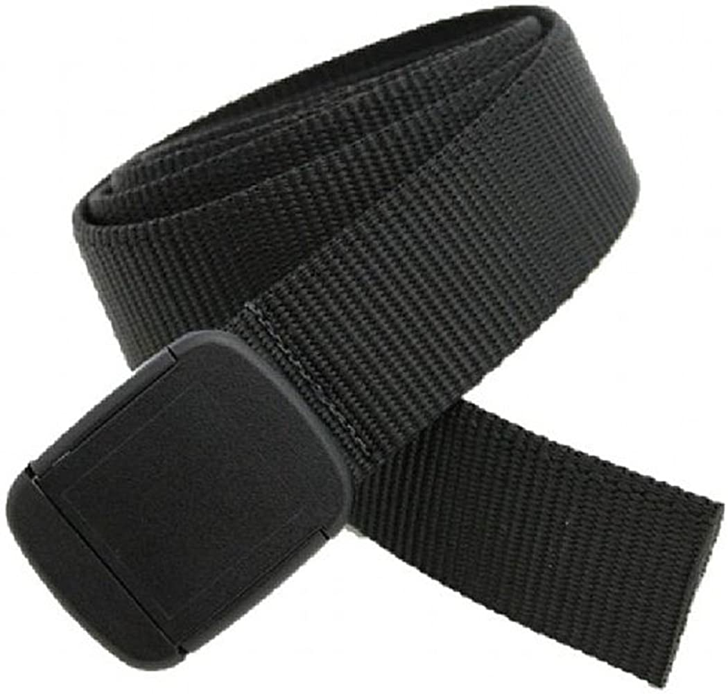 Thomas Bates Hiker Belt Nylon Blend Outdoor Web Adjustable Buckle Made in the USA