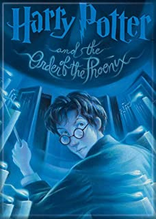 """Ata-Boy Harry Potter and The Order of The Phoenix Book Cover 2.5"""" x 3.5"""" Magnet for Refrigerators and Lockers"""