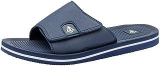 Mens Dunlop Sliders Flip Flops Beach Shoes Summer Casual Pool Slides Memory Foam Lightweight Everyday Sandals