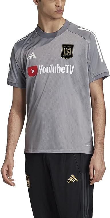 adidas Los Angeles Fc Adult Soccer Training Jersey (FI2345)